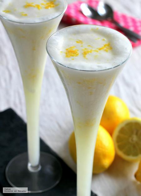La mejor receta de sorbete de limón