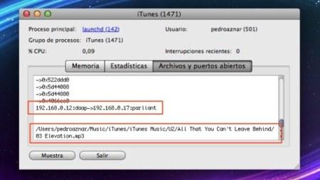 Truco: Cómo saber (en Mac) quién está conectado a tu biblioteca de iTunes