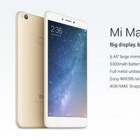 Desde España: Xiaomi Mi Max 2 de 128GB, un phablet con pantalla de 6,44'', por 239 euros y envío gratis