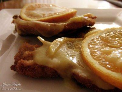 Receta de chuletas de cerdo a la naranja