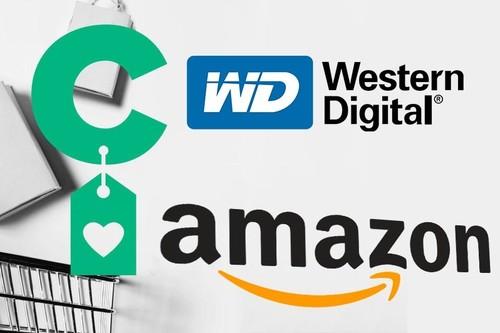 Ofertas en discos duros Western Digital de todo tipo en Amazon
