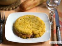 Tortillas individuales de patatas y salmón ahumado. Receta