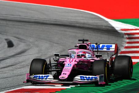 Sergio Perez Estiria F1 2020