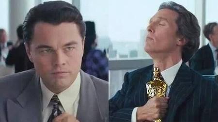 McConaughey dejó sin Oscar a DiCaprio