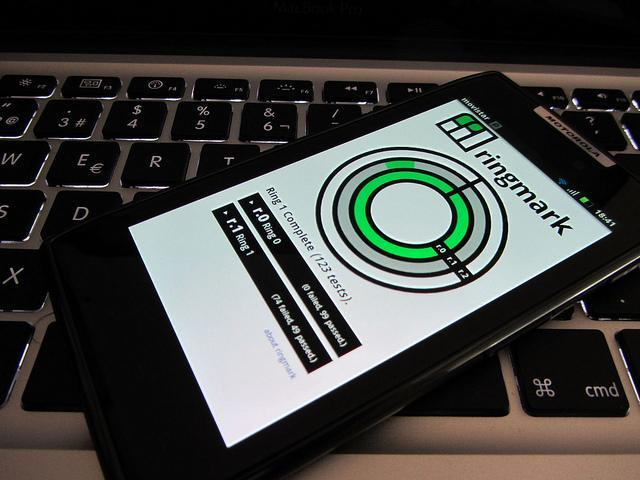 Ringmark opensource suite de test para navegadores moviles