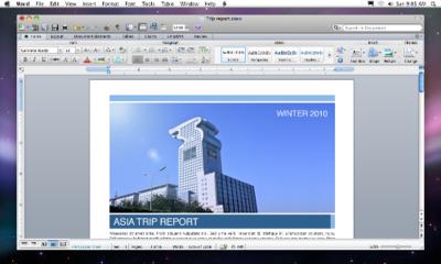 Microsoft anuncia oficialmente Office 2011 para Mac