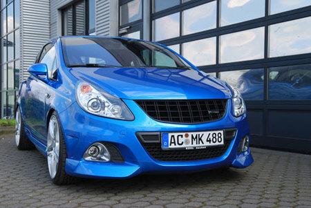 El Opel Corsa OPC de Steinmetz pasa de los 200 CV