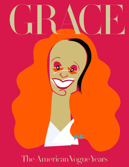 Mendo Book Grace Thirty Years Of Fashion Vogue Cover