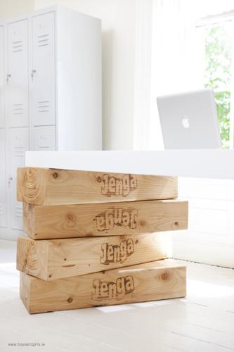 Jenga escritorio