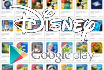 Disney Apps con descuento en Google Play Store