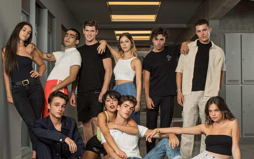 'Élite': las primeras fotos de la temporada 4 de la serie de Netflix presentan su nuevo reparto