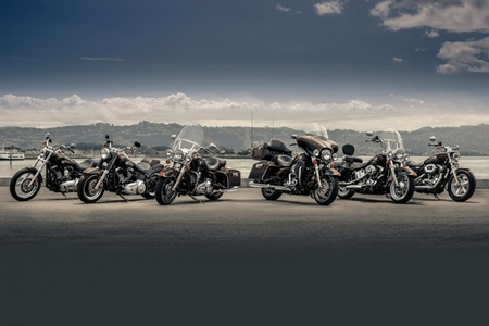 Gama Harley Davidson 110 aniversario en 2013