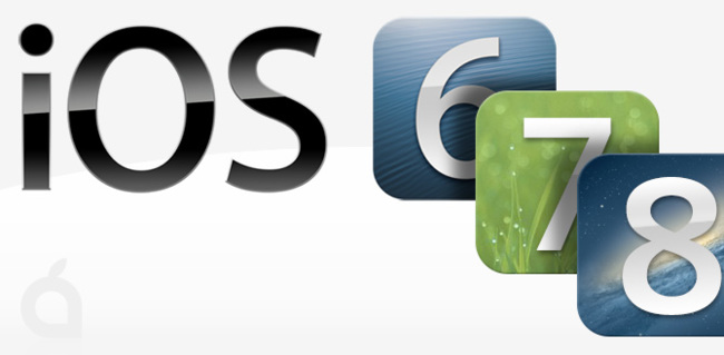iOS 6, iOS 7 & iOS 8 roadmap