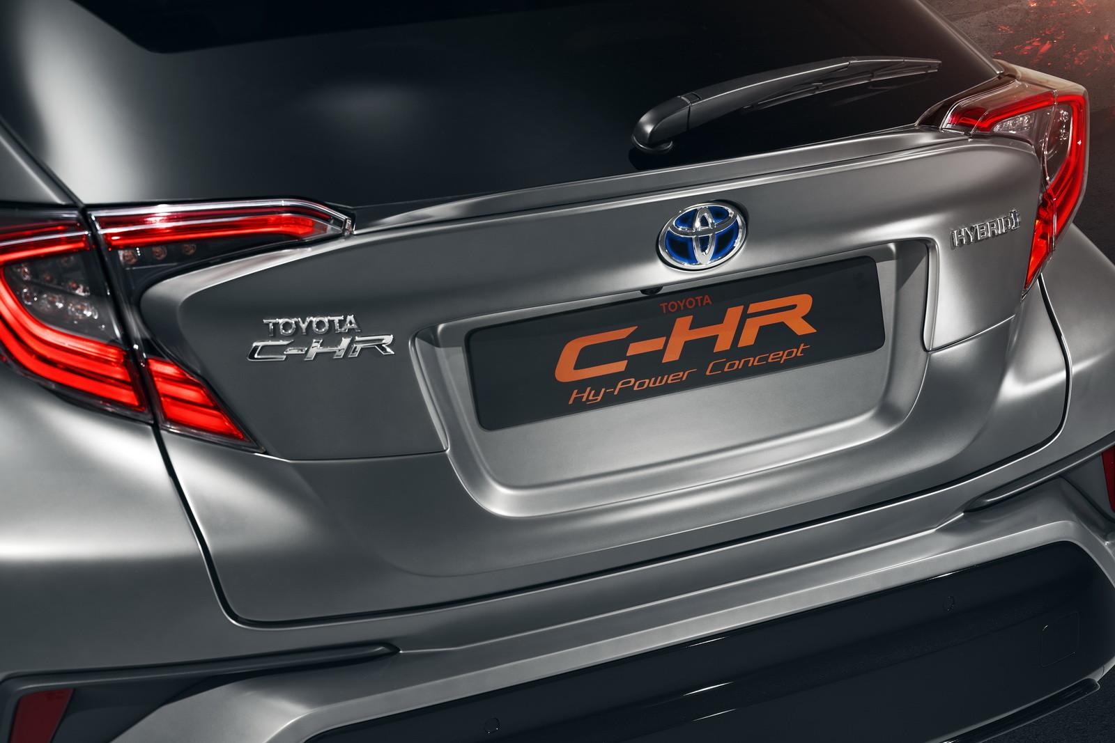 Foto de Toyota CH-R Hy-Power Concept (13/20)