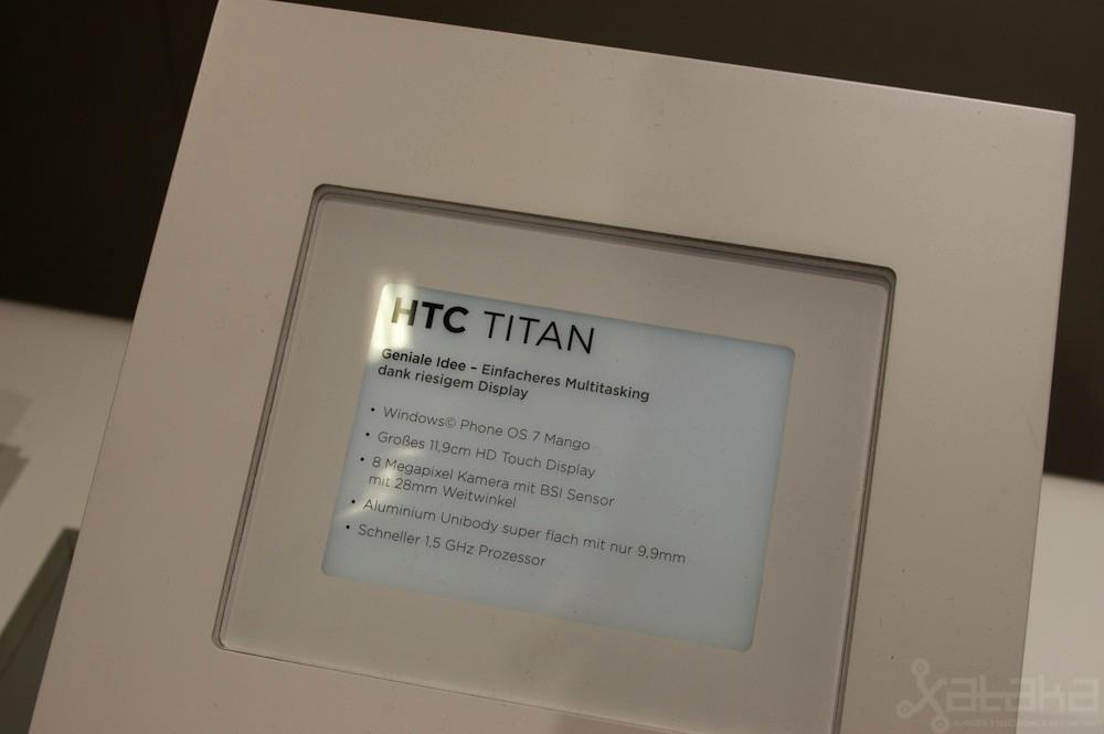 Foto de HTC Titan y HTC Radar en IFA 2011 (5/14)