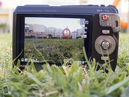 Olympus TG-820 pantalla