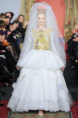 vestido novia christian lacroix