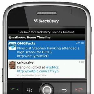 Seesmic 1.5 llega a BlackBerry cargado de mejoras