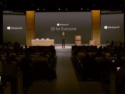 Actualización gratis de Windows 10 en 2017 centrada en la creatividad y el 3D
