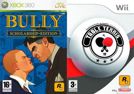 'Table Tennis' para Wii y 'Bully' para Xbox360 y Wii, a finales de año