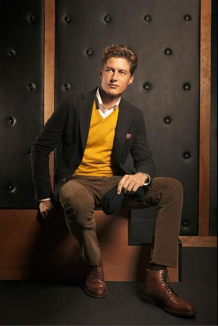 Massimo Dutti Lookbook Hombre 2012