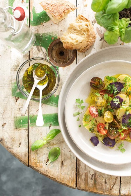 Paseo por la gastronomía de la red: ensaladas para disfrutar en verano