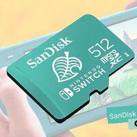 Chollazo a precio mínimo: Amazon tiene la MicroSDXC para Nintendo Switch de SanDisk con 512 GB por sólo 102,99 euros