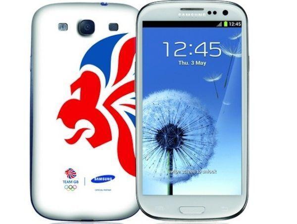 Samsung Galaxy SIII edición JJOO blanca