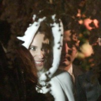 La romántica boda de Andrea Casiraghi y Tatiana Santo Domingo bajo la nieve