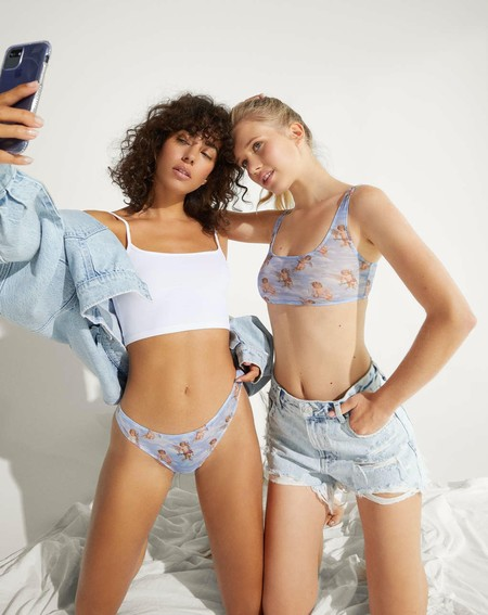 Bershka lanza una colección de lencería y pijamas perfecta para desprender estilo incluso en los sueños más profundos