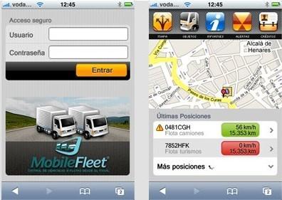 MobileFleet, control de flotas vía iPhone