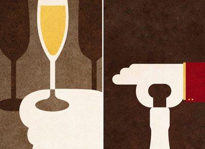 Protocolo del champán: cómo abrirlo y en qué copas servirlo