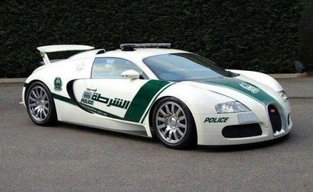 Bugatti Veyron al servicio de la policía