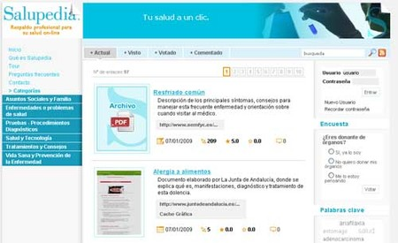 Salupedia: enciclopedia virtual sobre salud