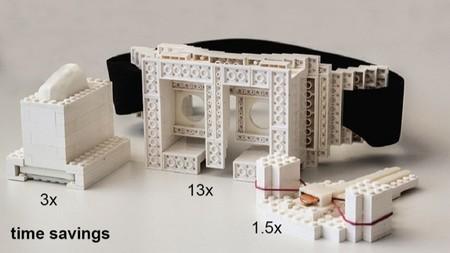 El proyecto faBrickation utiliza los LEGO para realizar prototipos rápidos