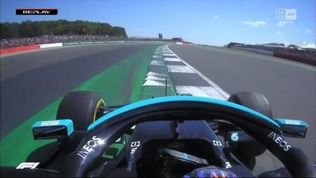 Hamilton Pasada De Frenada Verstappen Gran Bretana F1 2021