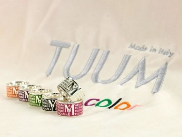 Tuum Color: anillos coloristas para chicos espirituales