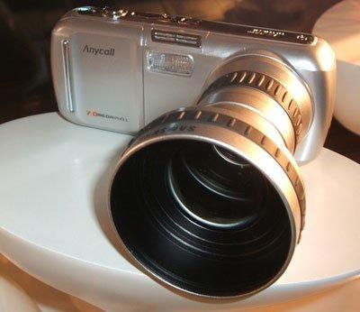 El zoom óptico del Samsung SCH-V770