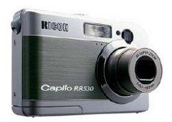 Ricoh Caplio RR530, con 5 megapíxeles