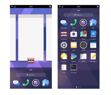 Gnome Mobile Shell