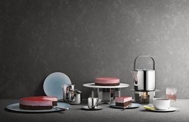 Metales preciosos, artesanía y buen diseño para la hora del té