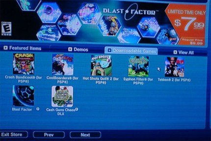 Primeros títulos de PSone disponibles en la Playstation Store de PS3