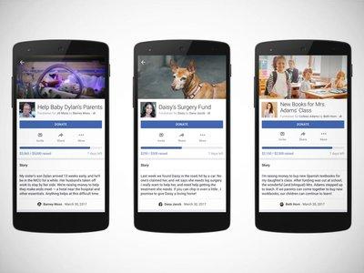 Facebook lanza una herramienta para financiar proyectos personales