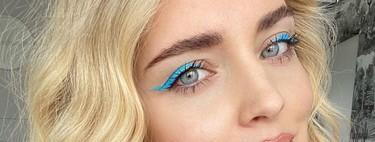 Cinco delineados de colores vibrantes de Chiara Ferragni que querremos copiar para nuestros maquillajes más veraniegos