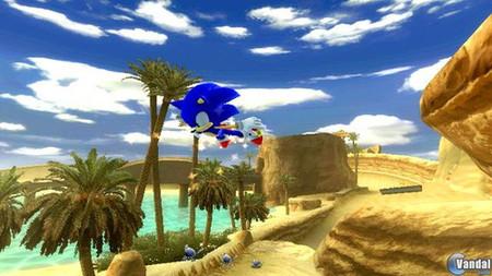 Nuevas imágenes de 'Sonic Unleashed' para Wii
