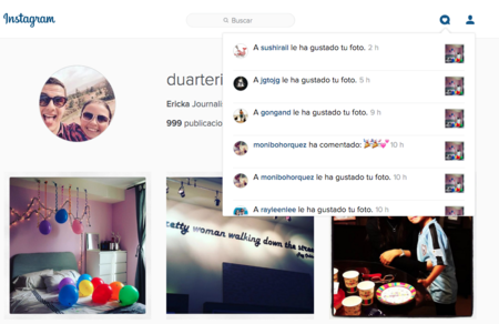 Ya puedes recibir notificaciones de Instagram desde la web