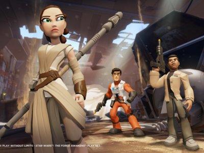 Los protagonistas de Star Wars El Despertar de la Fuerza llegarán a Disney Infinity 3.0  con la película
