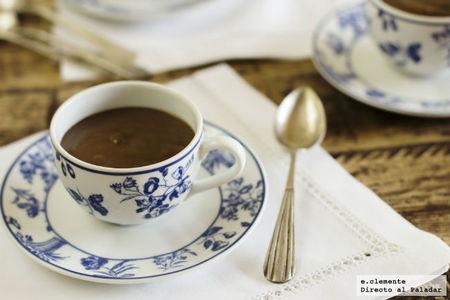 Pudding de café con leche. Receta