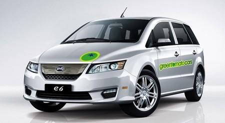 50 taxis eléctricos BYD E6 para Londres