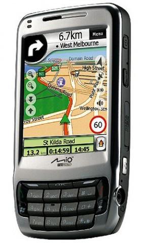 Mio lanzará un teléfono con GPS el próximo año